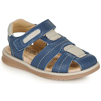 Παπούτσια Αγόρι Σανδάλια / Πέδιλα Citrouille et Compagnie MABILOU Μπλέ