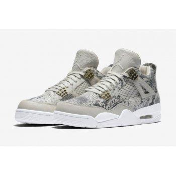 Παπούτσια Ψηλά Sneakers Nike Air Jordan 4 Pinnacle Snakeskin Light Bone/White-Pure Platinum-Wolf Grey