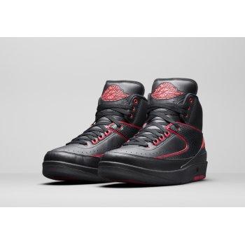 Παπούτσια Ψηλά Sneakers Nike Air Jordan 2 Alternate 87 Black/Gym Red-Black