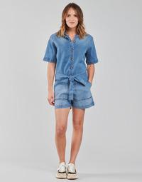 Υφασμάτινα Γυναίκα Ολόσωμες φόρμες / σαλοπέτες Betty London ONIOU Μπλέ / Medium