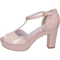 Παπούτσια Γυναίκα Σανδάλια / Πέδιλα Olga Rubini Sandali Camoscio sintetico Vernice 3