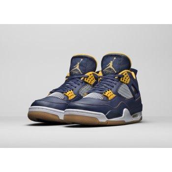 Παπούτσια Ψηλά Sneakers Nike Air Jordan 4 Dunk From Above Midnight Navy/Yellow-White-Gum