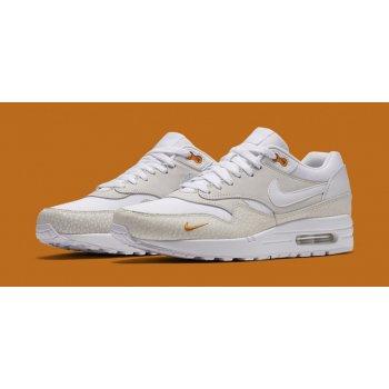 Παπούτσια Χαμηλά Sneakers Nike Air Max 1 Kumquat White/White-Kumquat