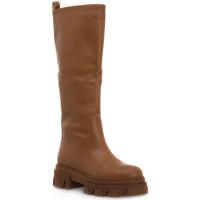 Παπούτσια Γυναίκα Μπότες για την πόλη Priv Lab VITELLO CUOIO Marrone