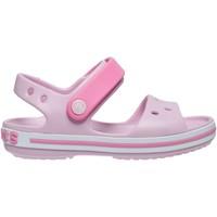 Παπούτσια Κορίτσι Σανδάλια / Πέδιλα Crocs Crocs™ Crocband Sandal Kids Ροζ