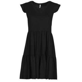 Υφασμάτινα Γυναίκα Κοντά Φορέματα Only ONLMAY Black