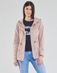 Υφασμάτινα Γυναίκα Παρκά Only ONLLORCA Ροζ