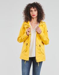 Υφασμάτινα Γυναίκα Παρκά Only ONLLORCA Yellow