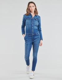 Υφασμάτινα Γυναίκα Ολόσωμες φόρμες / σαλοπέτες Only ONLCALLI Μπλέ / Medium