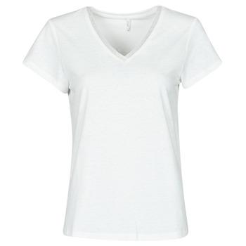 Υφασμάτινα Γυναίκα Μπλούζες Only ONLZENNA Άσπρο