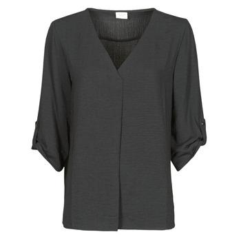 Υφασμάτινα Γυναίκα Μπλούζες JDY JDYDIVYA 3/4 TOP WVN NOOS Black