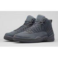 Παπούτσια Ψηλά Sneakers Nike Air Jordan 12 PSNY Grey Dark Grey/Dark Grey-Black