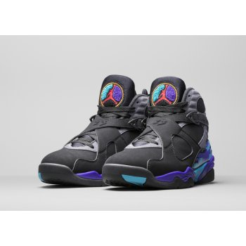 Παπούτσια Ψηλά Sneakers Nike Air Jordan 8 Aqua 2015 Black/Bright Concord-Aqua Tone
