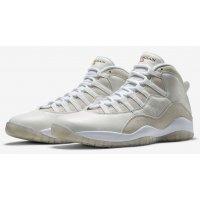 Παπούτσια Ψηλά Sneakers Nike Air Jordan 10 x OVO White Summit White/Metallic Gold-White