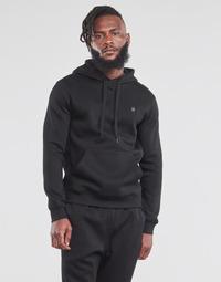 Υφασμάτινα Άνδρας Φούτερ G-Star Raw PREMIUM BASIC HOODED SWEATE Black