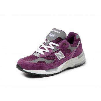 Παπούτσια Χαμηλά Sneakers New Balance 992 Purple Grey Purple / Grey
