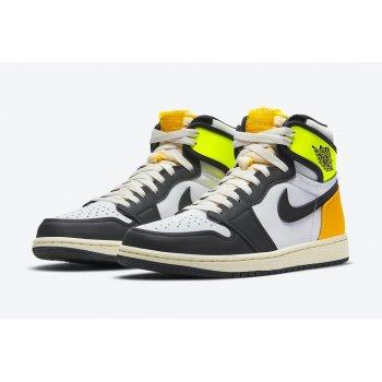 Παπούτσια Ψηλά Sneakers Nike Air Jordan 1 High Volt Gold White/Volt-University Gold-Black