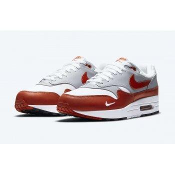 Παπούτσια Χαμηλά Sneakers Nike Air Max 1 Martian Sunrise White/Martian Sunrise-Wolf Grey-Black