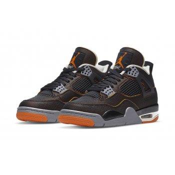 Παπούτσια Ψηλά Sneakers Nike Air Jordan 4 Wmns Starfish Sail/Starfish-Light Smoke Grey-Black