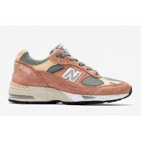 Παπούτσια Χαμηλά Sneakers New Balance 991 x Patta Dusty Pink/Light Petrol