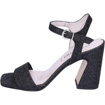 Παπούτσια Γυναίκα Σανδάλια / Πέδιλα Olga Rubini Σανδάλια BJ413 Μαύρος