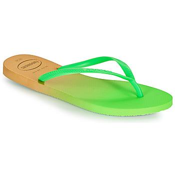Παπούτσια Γυναίκα Σαγιονάρες Havaianas SLIM GRADIENT Άσπρο / Green