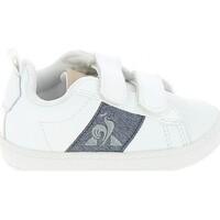 Παπούτσια Χαμηλά Sneakers Le Coq Sportif Courtclassic BB Blanc Bleu Άσπρο