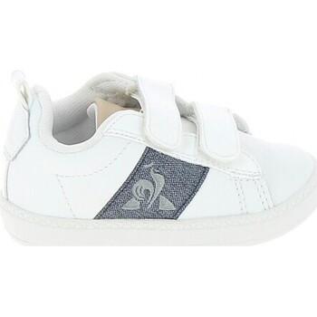 Xαμηλά Sneakers Le Coq Sportif Courtclassic BB Blanc Bleu