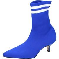 Παπούτσια Γυναίκα Μποτίνια Olga Rubini Μπότες αστραγάλου BJ429 Μπλε