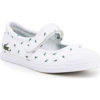 Παπούτσια Γυναίκα Μπαλαρίνες Lacoste 7-31SPJ00361R5 white, green