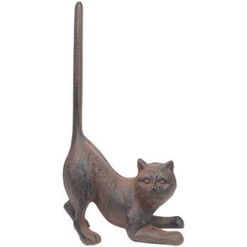 Σπίτι Αγαλματίδια και  Signes Grimalt Πόρτες Υποστηρίζει Cat Gris