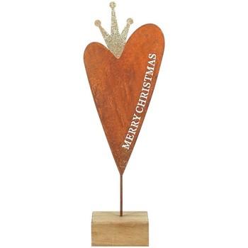 Σπίτι Χριστουγεννιάτικα διακοσμητικά Signes Grimalt Ξύλο Βάση Καρδιά Multicolor