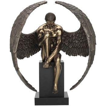 Σπίτι Αγαλματίδια και  Signes Grimalt Άγγελος Γυμνή Βάθρο Dorado