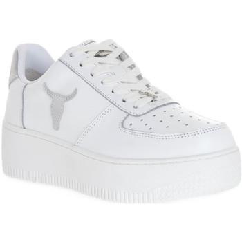 Παπούτσια Γυναίκα Sneakers Windsor Smith RICH BRAVE WHITE SILVER PERLISHED Bianco