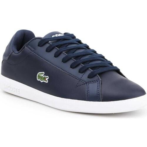 Παπούτσια Άνδρας Χαμηλά Sneakers Lacoste 7-37SMA0053092 navy