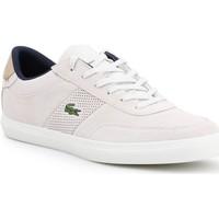 Παπούτσια Άνδρας Χαμηλά Sneakers Lacoste Court-Master 418 1 CAM 7-36CAM0015-WN8 beige