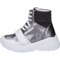 Παπούτσια Γυναίκα Ψηλά Sneakers Twin Set BJ482 Γκρί