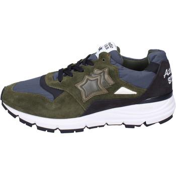 Παπούτσια Άνδρας Sneakers Atlantic Stars Αθλητικά BJ492 πράσινος