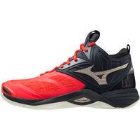 Παπούτσια Άνδρας Multisport Mizuno Chaussures  Wave Momentum 2 Mid rouge/or/noir