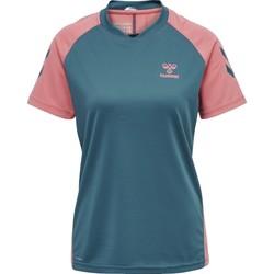 Υφασμάτινα Παιδί T-shirts & Μπλούζες Hummel Maillot d'entrainement enfant  hmlACTION bleu/rose