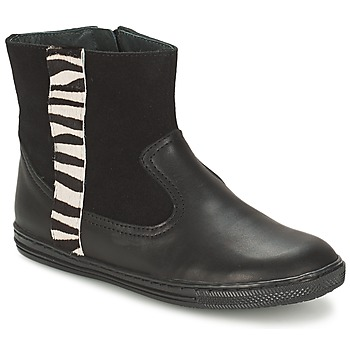 Παπούτσια Κορίτσι Μπότες Citrouille et Compagnie ELLIA Black