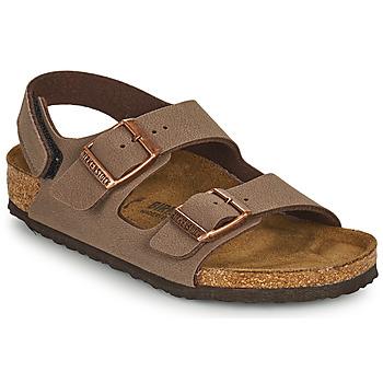 Παπούτσια Αγόρι Σανδάλια / Πέδιλα Birkenstock MILANO HL Brown