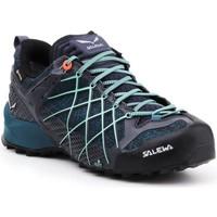 Παπούτσια Γυναίκα Πεζοπορίας Salewa Buty trekkingowe  Wildfire GTX 63488-3838 navy , blue, black