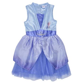 Υφασμάτινα Κορίτσι Κοντά Φορέματα TEAM HEROES  FROZEN DRESS Μπλέ