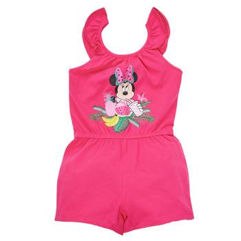 Υφασμάτινα Κορίτσι Ολόσωμες φόρμες / σαλοπέτες TEAM HEROES  MINNIE JUMPSUIT Ροζ