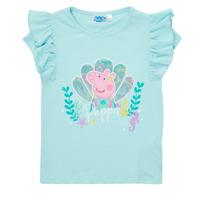 Υφασμάτινα Κορίτσι T-shirt με κοντά μανίκια TEAM HEROES  PEPPA PIG TEE Μπλέ