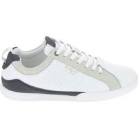Παπούτσια Άνδρας Χαμηλά Sneakers Kickers Tampa Blanc Bleu Άσπρο