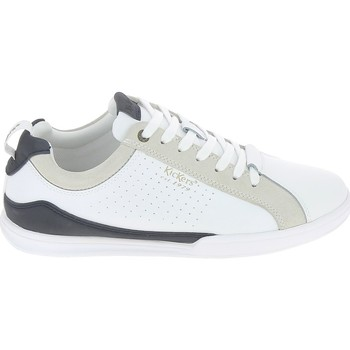 Xαμηλά Sneakers Kickers Tampa Blanc Bleu