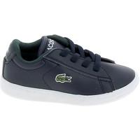 Παπούτσια Χαμηλά Sneakers Lacoste Carnaby BB Marine Blanc Μπλέ