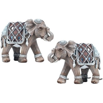 Σπίτι Αγαλματίδια και  Signes Grimalt Ελέφαντας Set 2 Μονάδες Multicolor